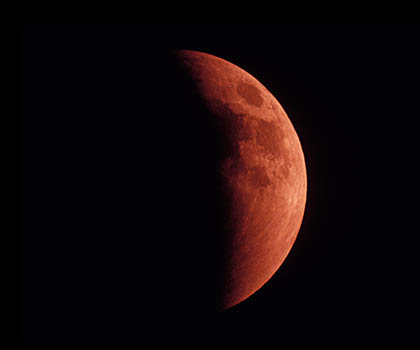 lunar-eclipse, blood moon
