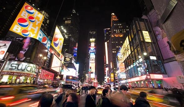 times square, new york city, manhattan