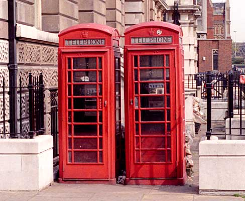 london, england, phone booth