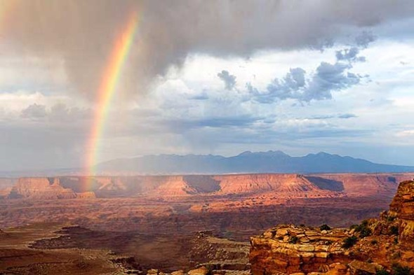Canyonlands, Rainbow