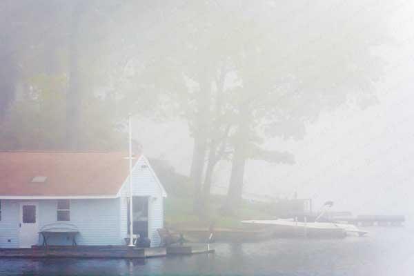 Fog, Lake