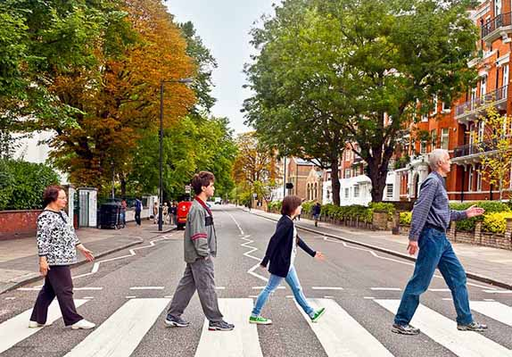 london, beatles, abbey road