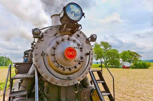 Steam Locomotive Train.