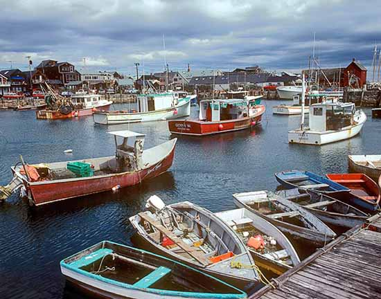 boats, harbor, cape ann, massachusetts