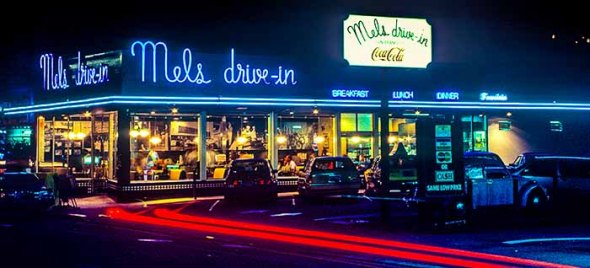 San Francisco, Mel's Drive-In, Restaurant, American Graffiti