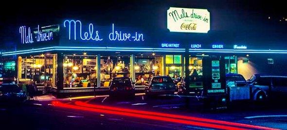 San Francisco, Mel's Drive-In, Restaurant, American Graffiti