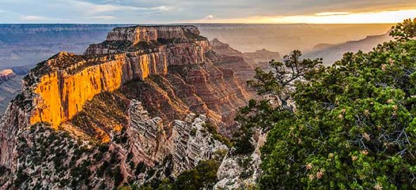Grand Canyon, North Rim, Sunset