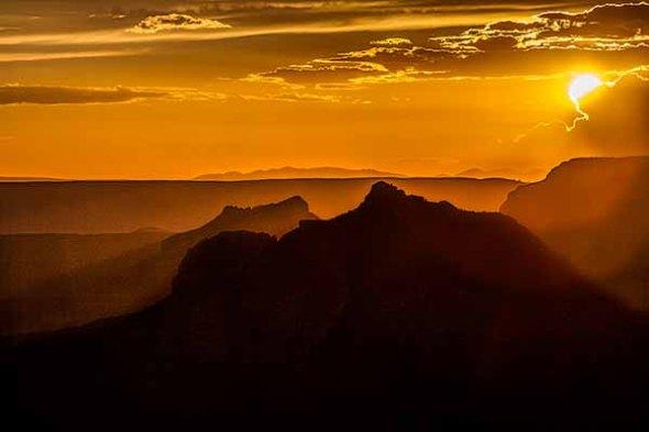 Grand Canyon North Rim Sunset