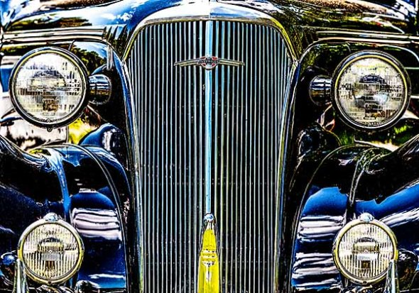 car, antique, old