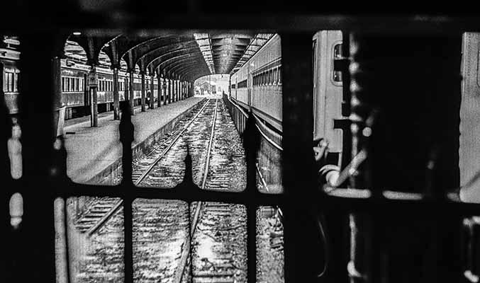Railroad Train Station