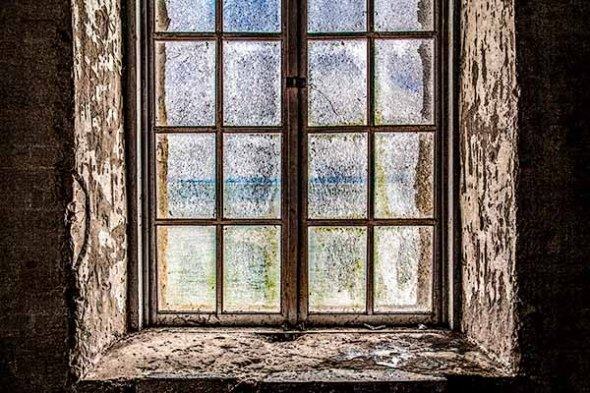 Alcatraz Prison  Window