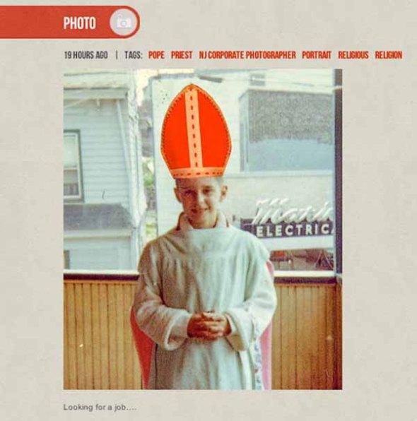 Pope, tumblr