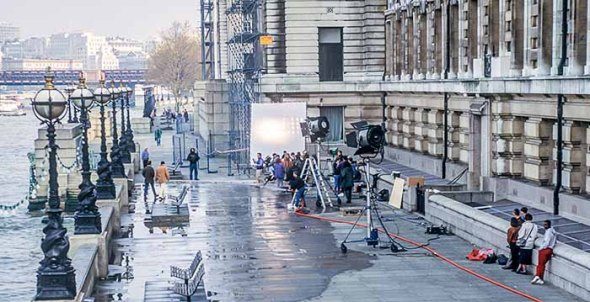 London, England, Thames, Filming, Movie, Hollywood