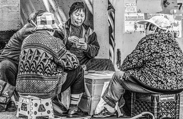 Chinese Women, Poker, Playing cards