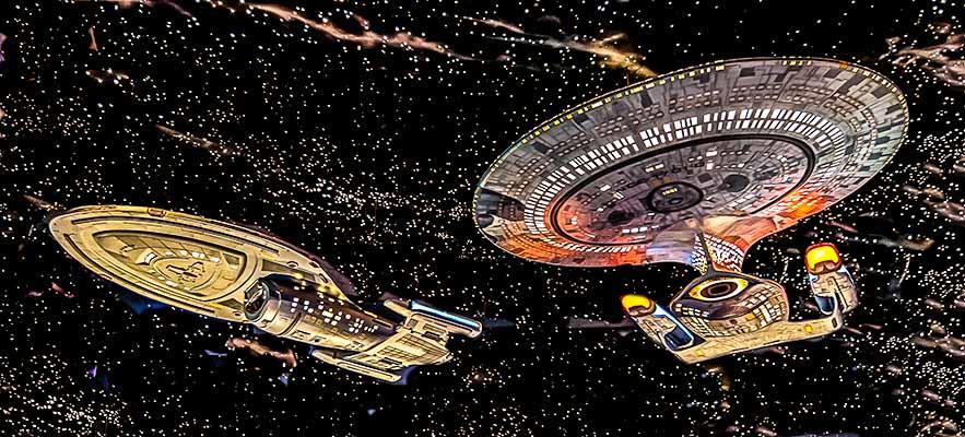 Star Trek, Enterprise, Space Ship, Science Fiction, TV, Television