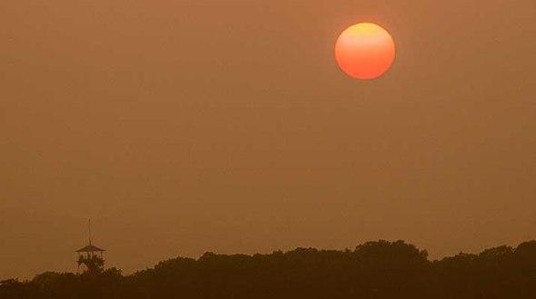 Gettysburg National Park Sunset
