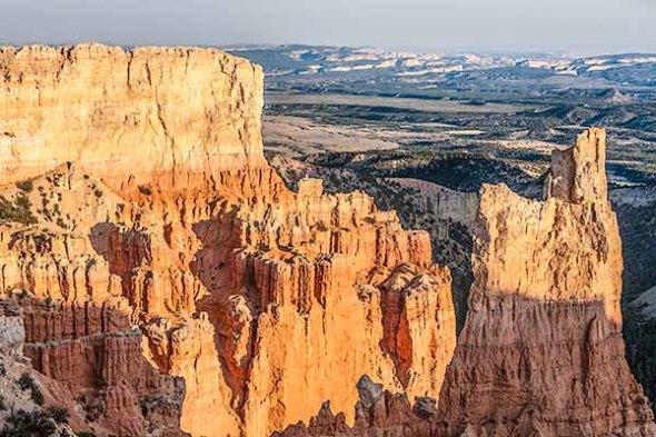 Bryce Canyon National Park, Utah, Sunset