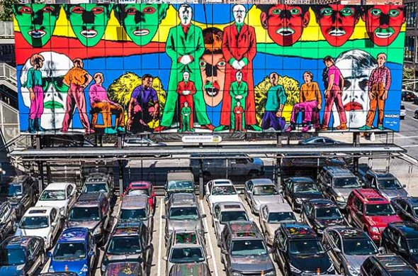 New York City Parking Lot