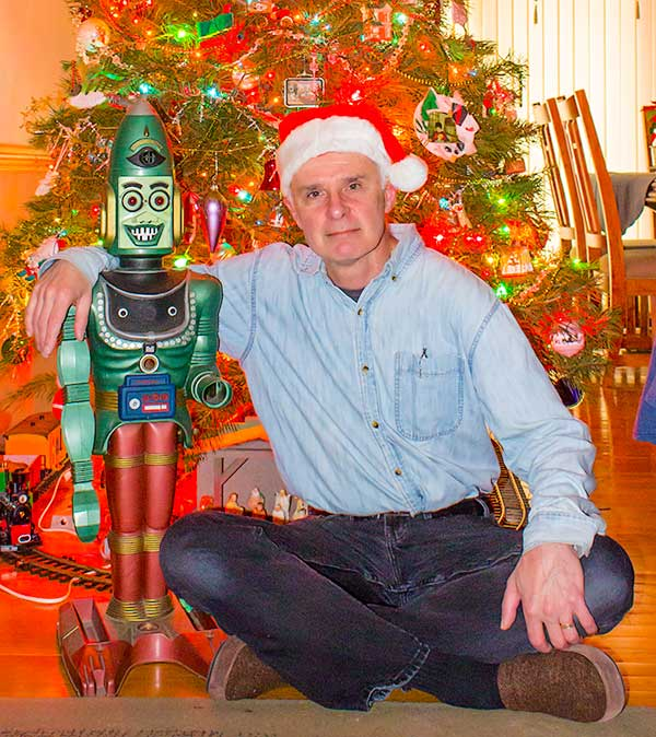 A Christmas Story, Christmas Tree, Xmas Day, toy, robot, Big Loo