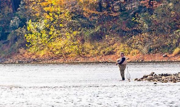 Fisherman, Delaware River