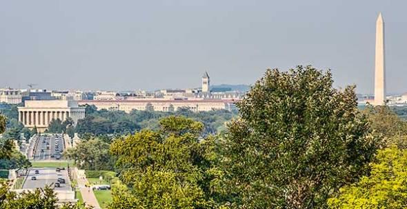 Lincoln Memorial, Washington Monument