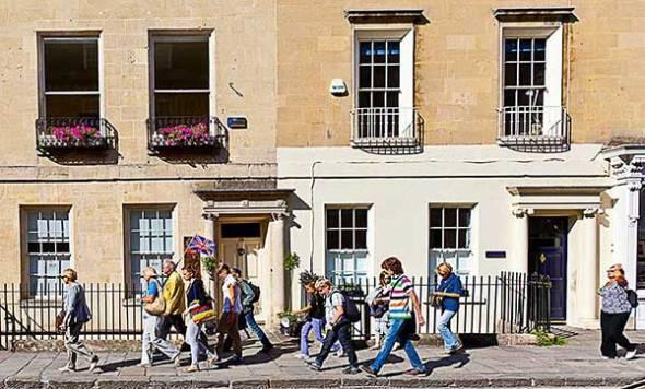 Tourists, Bath, England