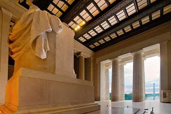 Lincoln Monument, Washington Monument, Washington D.C.