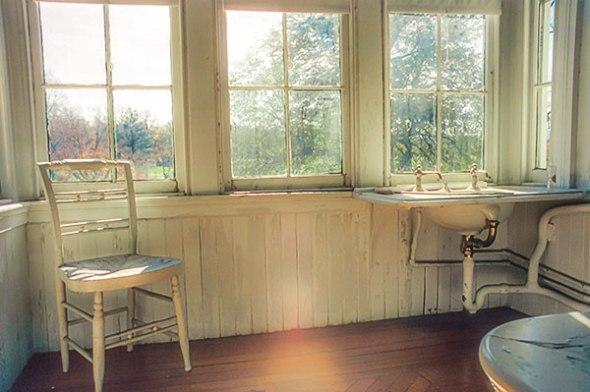 chair, window