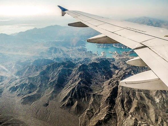 Jet, airplane, commercial flight, arizona