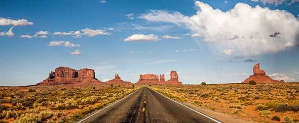 monument valley, navajo Nation, Arizona, Road