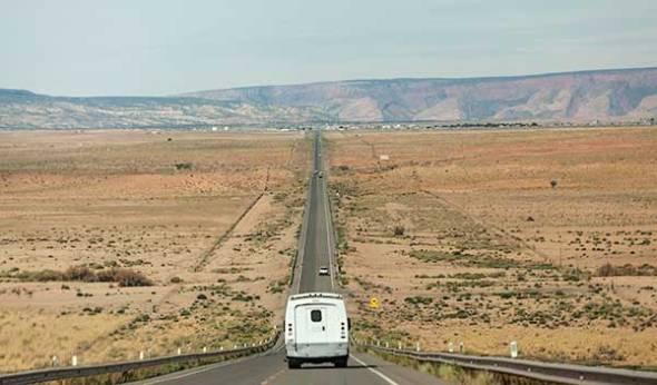 Arizona, Highway, Mountains,