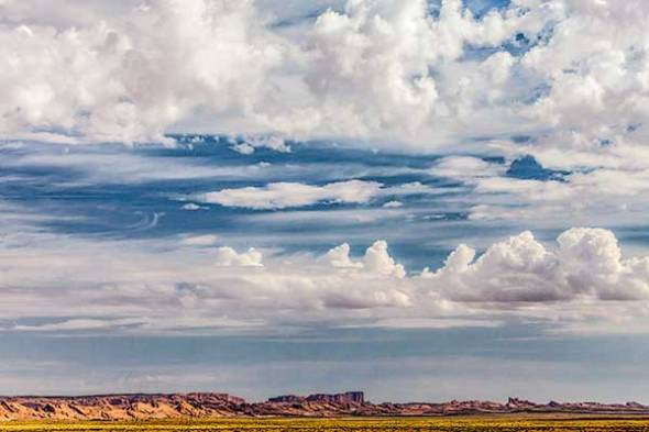 Arizona, Blue Sky, Clouds