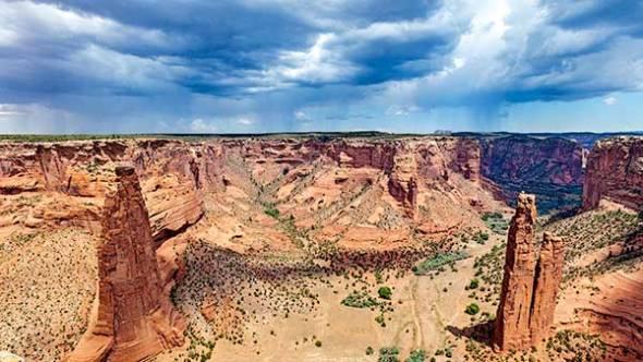 Canyon de Chelly, Storm Clouds, Storm, Rain