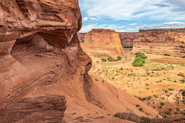 Canyon de Chelly, National Monument, Chinle, AZ, White House Trail