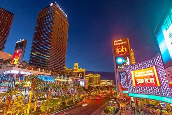 Las Vegas, Night Photography,