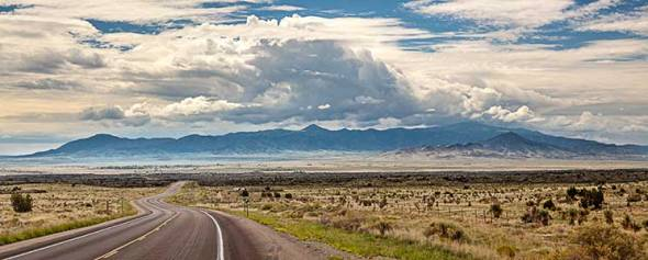 Road, Mountains, New Mexico