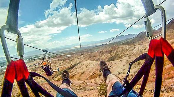Zip LIne, Sports, Bootleg Canyon, Boulder City, Adventure