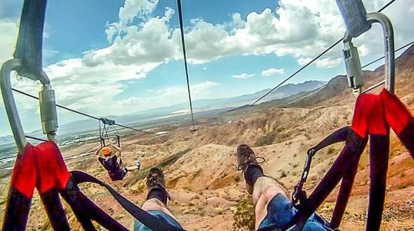 Zip LIne, Sports, Bootleg Canyon, Boulder City, Adventure