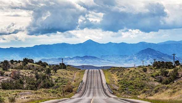 Road, Highway, New Mexico