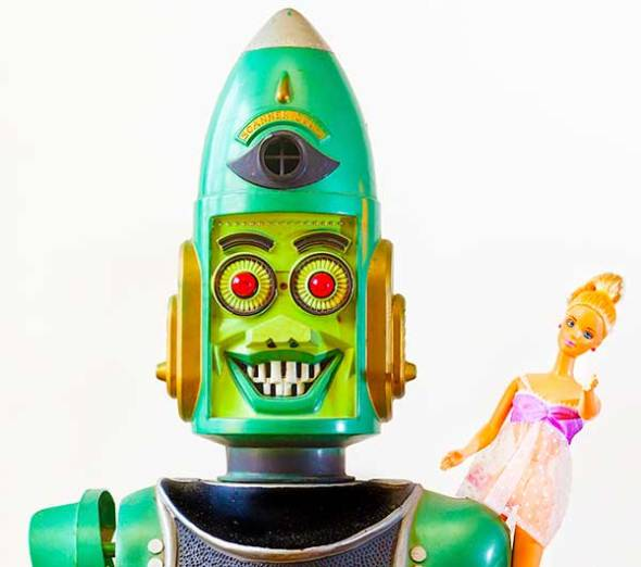 toy, toys, robot, barbie doll
