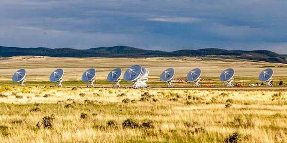 VLA, Very Large Array, New Mexico, Radio Astronomy, Satelite Dishes