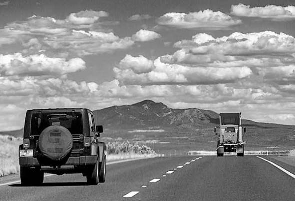 new mexico, road, travel, mountains, clouds