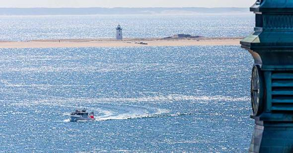 Cape Cod, Lighthouse, Provincetown, Boat