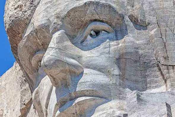 Mt Rushmore, Lincoln