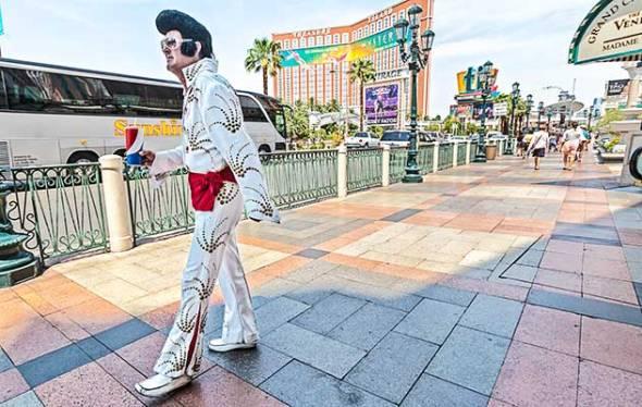 Elvis, Las Vegas