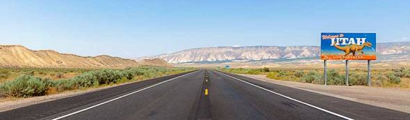 Utah, Highway, Road, Isolation, Empty