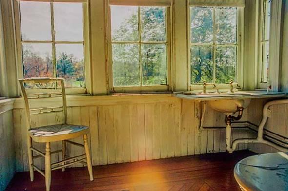 Chair, Window, Still Life