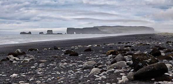 Iceland, Black Sand Beach, Reynisfjara