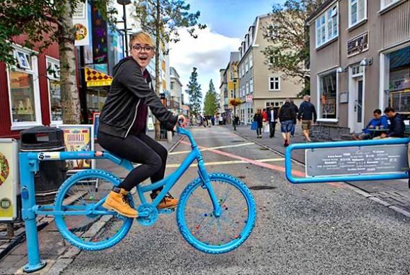 Reykjavik, Iceland, Tourists, Laugavegur