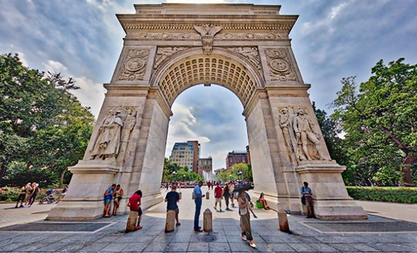 Washington Square Park, New York City, Manhattan